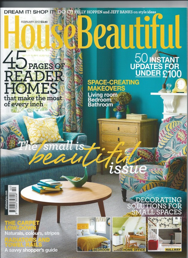 House Beautiful Mag house beautiful magazine: live january 2012 | anna paganelli